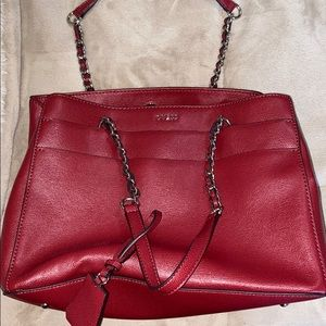 GUESS red purse